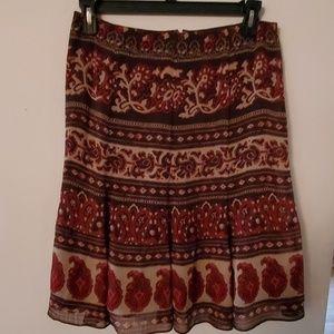 Jones Wear Brown Skirt - 10P
